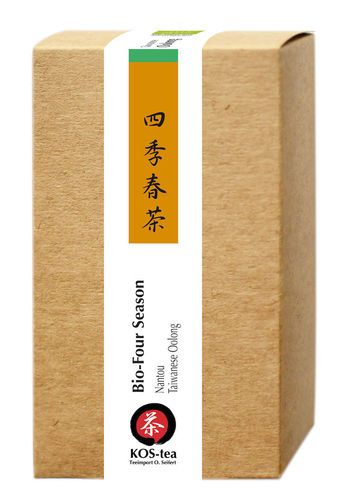 60 g Four Seasons Taiwan Nantou Oolong Tee, bio